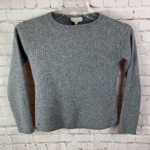 Nordstrom Collection Gray 100% Cashmere Sweater